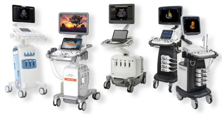 Ultraschallgeräte führender Hersteller