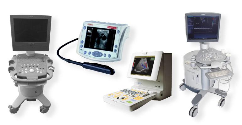 gebrauchte Ultraschallgeräte und andere Medizintechnik