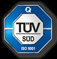 Logo TÜV ISO-9001