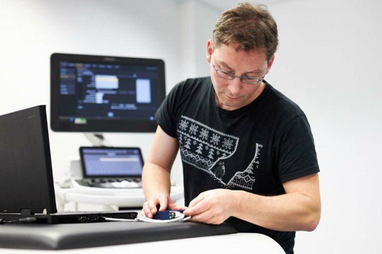 Servicetechniker beim IT-Support